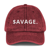 $AVAGE MODE Vintage Cotton Twill Cap-THE WISE VISIONS