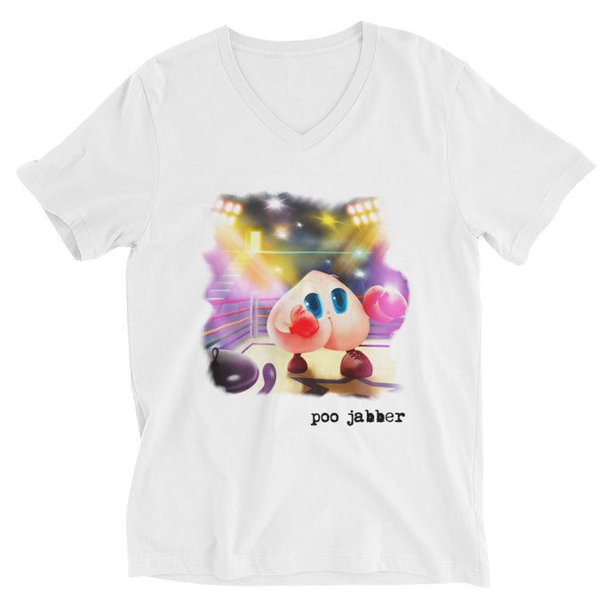 Poo Jabber T-Shirt (V-neck)