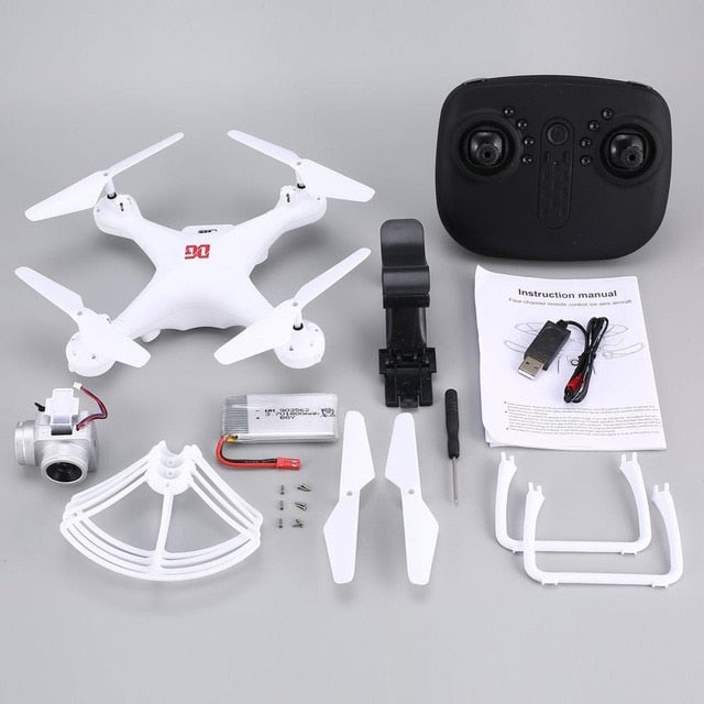 XG183 Smart RC 2.4G RC Quadcopter Drone with Altitude Hold One Key Return Headless Mode LED Flash Word Programmable Props