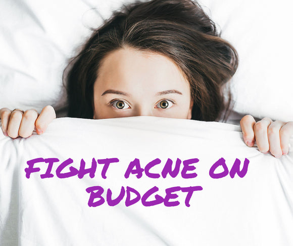 How to treat acne on a budget