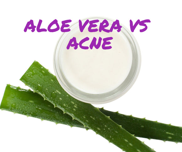 How to use aloe vera against acne