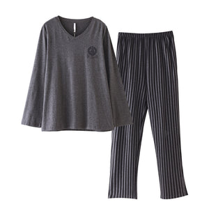 <b>San Francisco 7</b><br>cotton long sleeve pajamas set for men EN8178