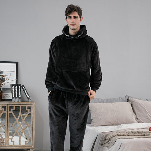 <b>Chilly Stockholm</b><br>fleece pajamas hoodie EN1016