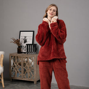 <b>Icelandic calmness</b><br>fleece pajamas warm neck EN1011