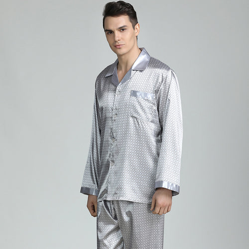 <b>Noble Festives</b><br>satin long sleeve pajamas set noble EN89008