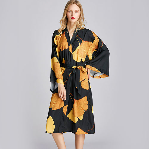 <b>Ginko Love</b><br>satin robe for women EN1503