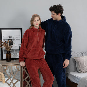 <b>Hibernation</b><br>warm fleece pajamas EN1013