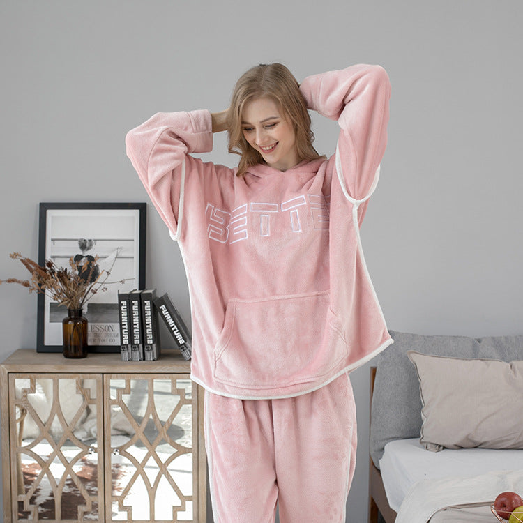 <b>Snowy Peak</b><br>warm fleece pajamas better EN1019