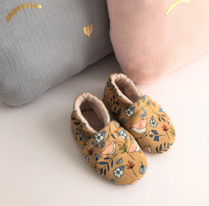 Chaussons LOVELY BIRDS Ambre
