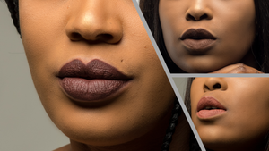 Dark Brown, Brown and Light Brown Liquid Matte Moisturising Lipstick