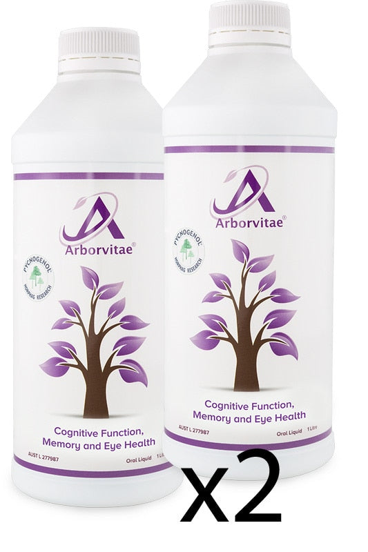 ARBORVITAE Cognitive 1L TWIN PACK