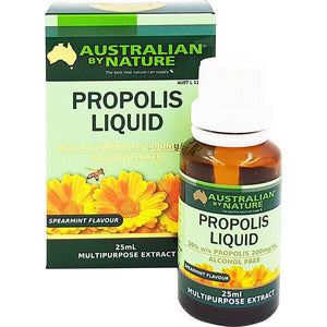 AUSTRALIAN BY NATURE Propolis Liquid A/F 20% 25ml