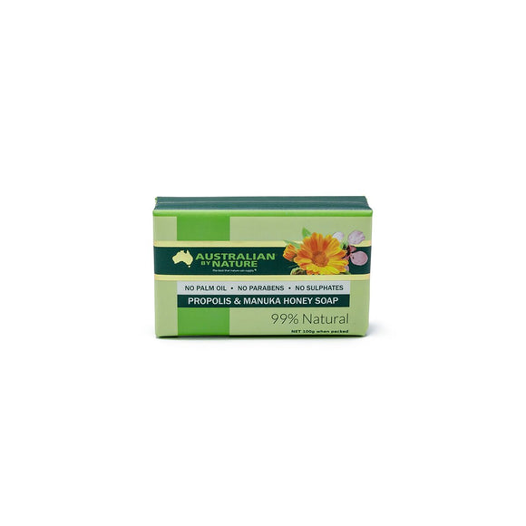 AUSTRALIAN BY NATURE Propolis & Honey Soap 100g