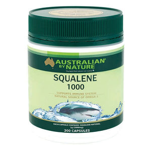 AUSTRALIAN BY NATURE Squalene 1000mg 200c