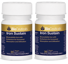 BIOCEUTICALS Iron Sustain 30t TWIN PACK