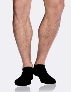 BOODY Mens Low Cut Socks Black 6-11