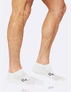BOODY Mens Sport Ankle Socks Wh 6-11