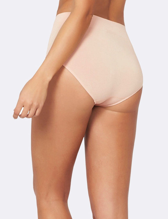 BOODY Bamboo Full Brief Blush Large