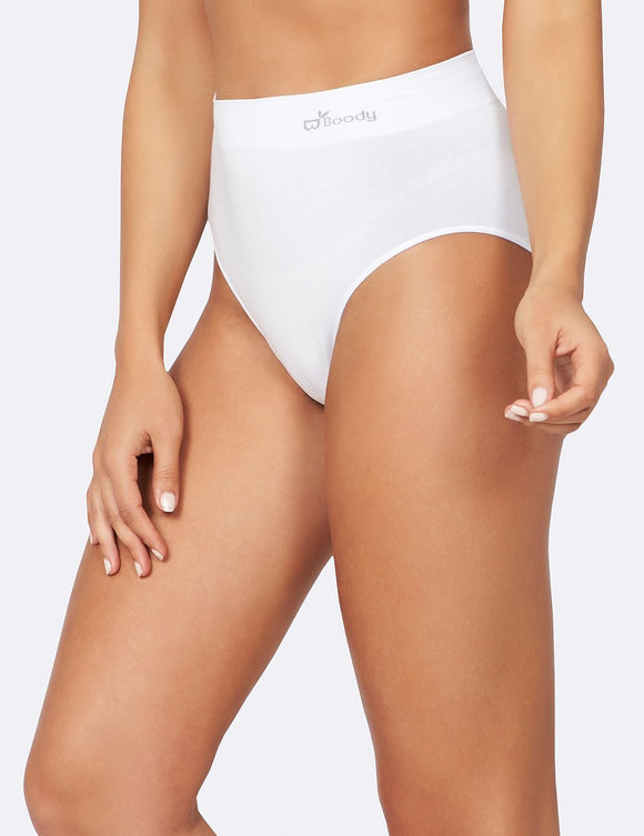 BOODY Bamboo Full Brief White Large