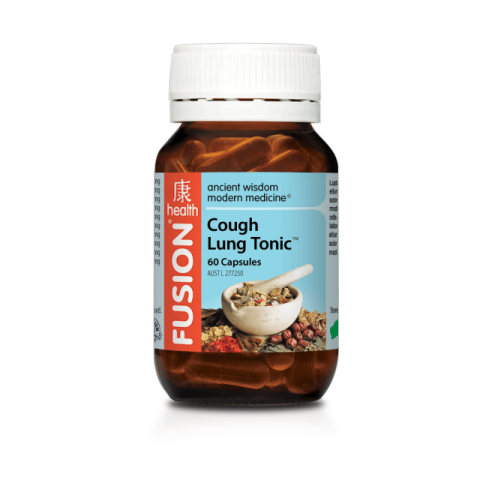 FUSION HEALTH Cough Lung Tonic 60vc