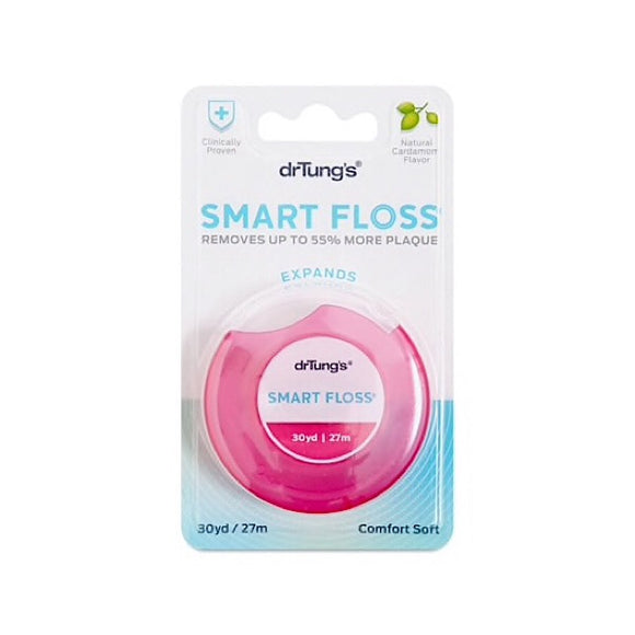 DR TUNGS Smart Floss Naturally Waxed 27m
