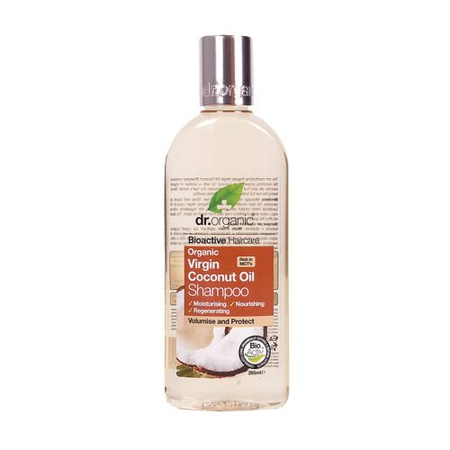 DR ORGANIC Coconut Oil Shampoo 265ml