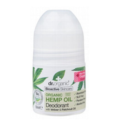 DR ORGANIC Hemp Oil Deodorant 50ml