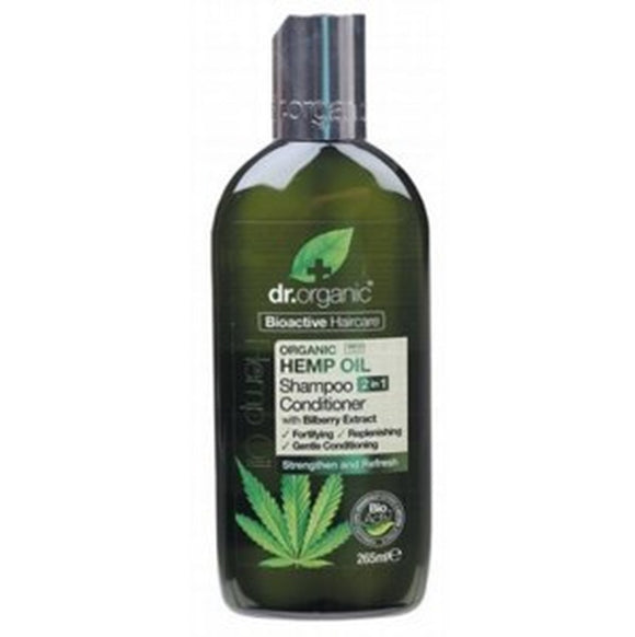 DR ORGANIC Hemp Oil Shampoo & Conditioner
