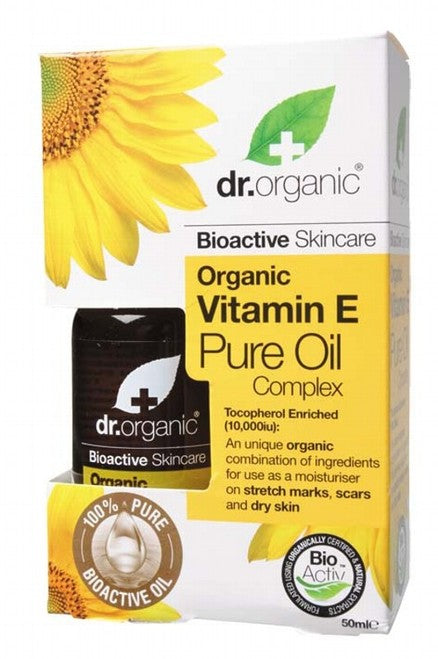 DR ORGANIC Organic Vitamin E Oil 50ml