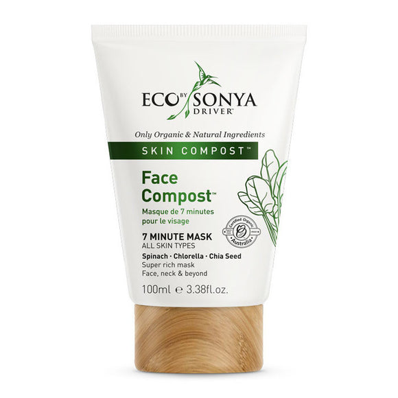 ECO BY SONYA DRIVER Organic Face Compost Mask 100ml