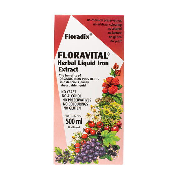 FLORADIX Floravital Liquid Iron 500ml