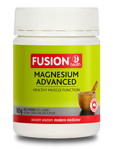 FUSION HEALTH Magnesium Advanced Lemon 165g