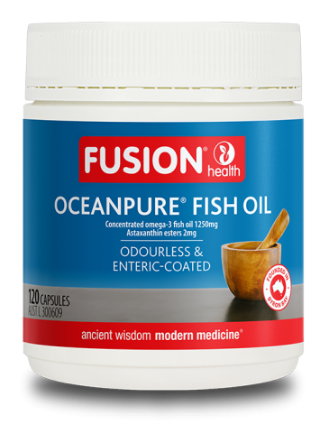 FUSION HEALTH OceanPure Fish Oil 120c