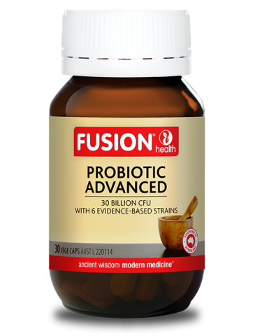 FUSION HEALTH Probiotic Advanced 30vc