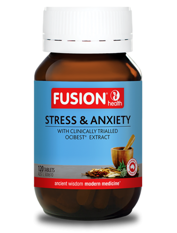 FUSION HEALTH Stress & Anxiety 60t