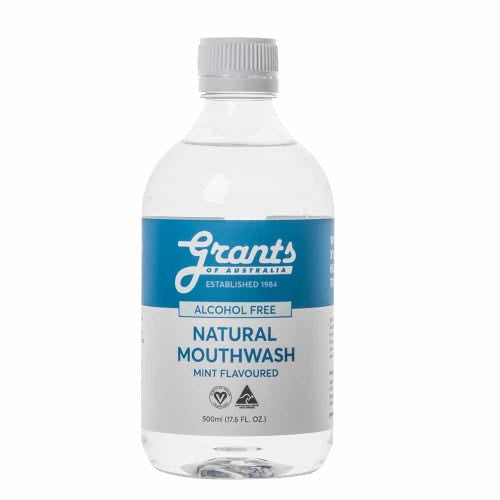 GRANTS Xylitol Mouthwash Mint 500ml