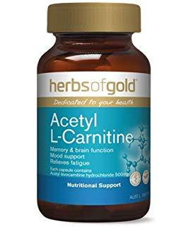 HERBS OF GOLD Acetyl L-Carnitine 120vc