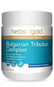 HERBS OF GOLD Bulgarian Tribulus Complex 120t