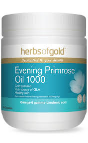 HERBS OF GOLD Evening Primrose Oil 1000 200c