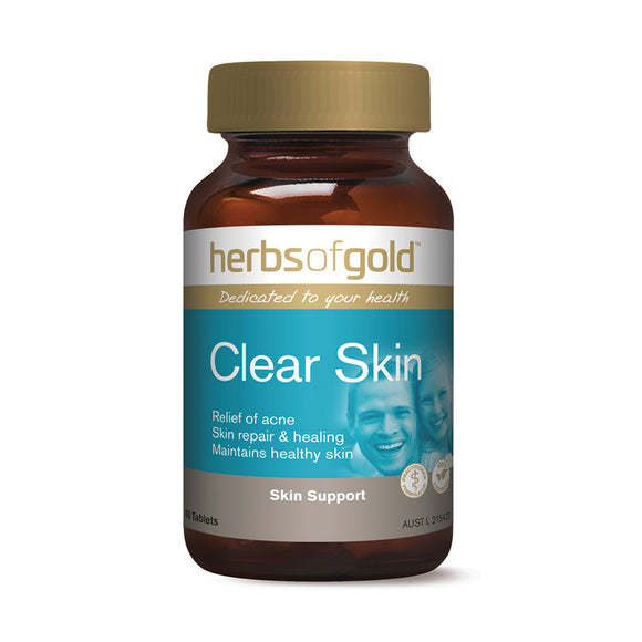HERBS OF GOLD Clear Skin 60t