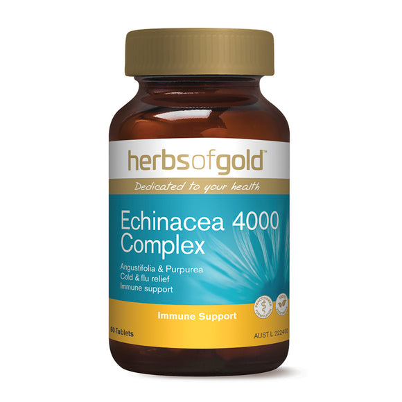 HERBS OF GOLD Echinacea 4000 Complex 60t