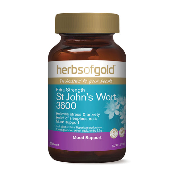 HERBS OF GOLD ES St Johns Wort 3600 30t