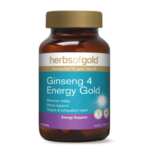 HERBS OF GOLD Ginseng 4 Energy 30t