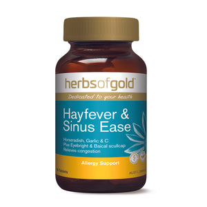 HERBS OF GOLD Hayfever & Sinus Ease 60t