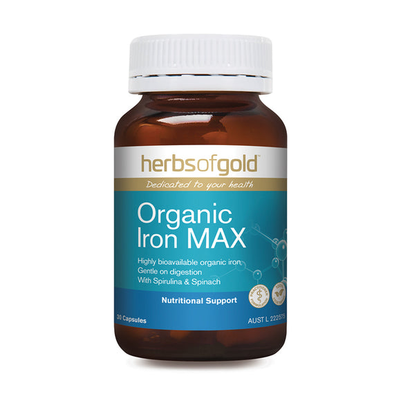 HERBS OF GOLD Organic Iron Max 30c