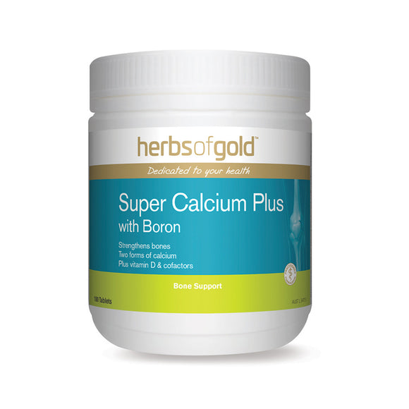 HERBS OF GOLD Super Calcium Plus 180t