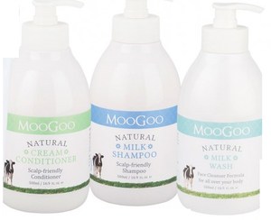 MOOGOO Shampoo/Conditioner/Wash 3 PACK