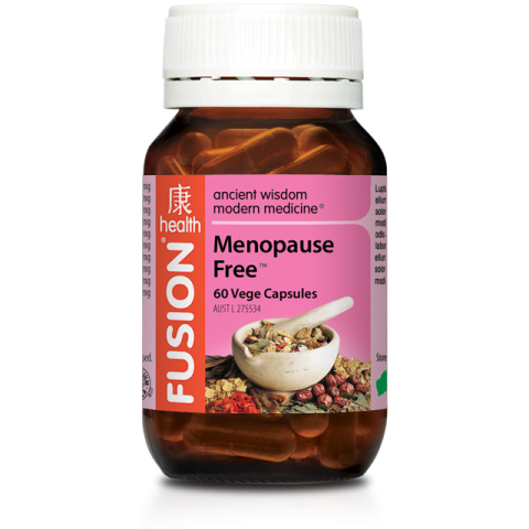 FUSION HEALTH Menopause Heat Relief 60vc