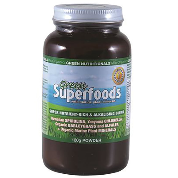GREEN NUTRITIONALS Green Superfoods 120g
