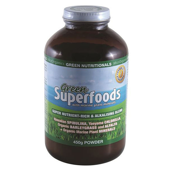GREEN NUTRITIONALS Green Superfoods 450g